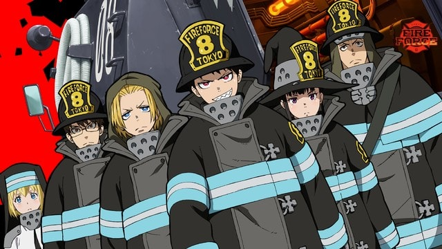 Fire Force Episode 12 English Dubbed