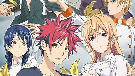 Food Wars! The Fourth Plate Episode 1 English Subbed