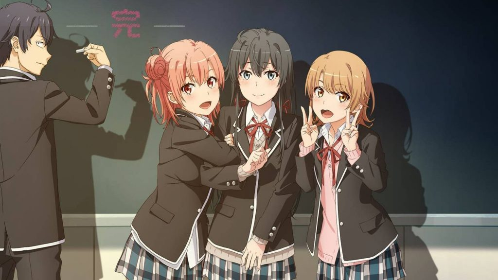 Yahari Ore no Seishun Rabukome wa Machigatteiru. Kan Episode 1 English Subbed