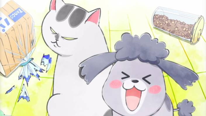 With a Dog AND a Cat, Every Day is Fun Episode 4 English Subbed